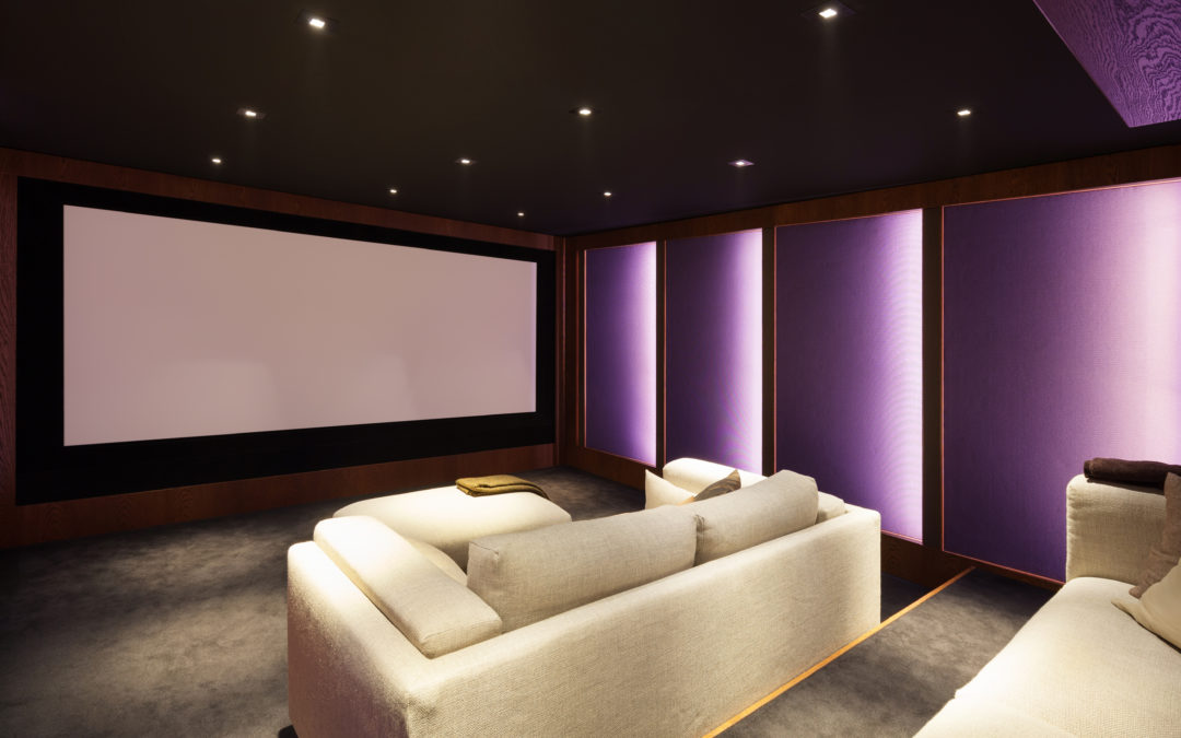 Insanely Cool Media Rooms